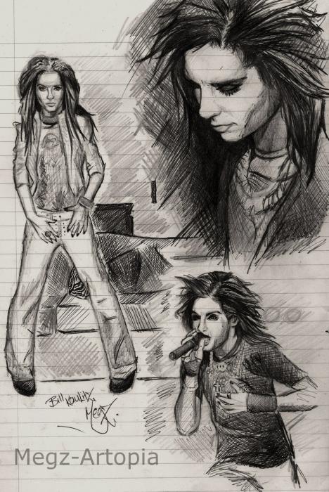 Bill Kaulitz por HeartHammer